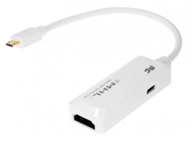 Real Cable iPlug MHL Blanc HDMI