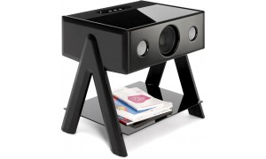 La Boite Concept Cube Noir Laqué de Piano