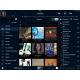 SOtM sMS-200 - Interface de commande iPeng sur iPad