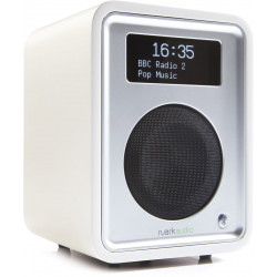 Ruark Audio R1 MKIII Blanc : un poste de radio numérique compacte et puissant
