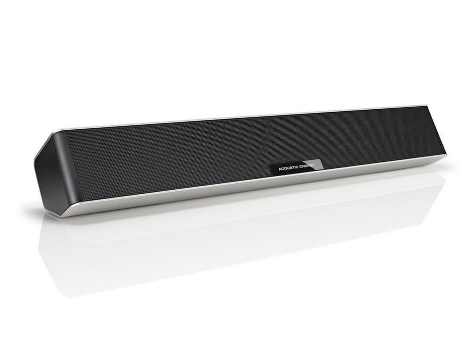 Acoustic Energy Aego Sound3ar 2.1 - Barre de son polyvalente TV et enceinte Bluetooth et audio
