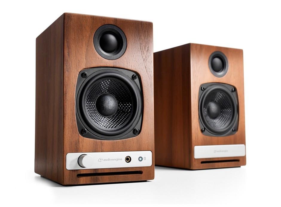 paire d 39 enceintes amplifi es 2x15 w dac usb bluetooth aptx. Black Bedroom Furniture Sets. Home Design Ideas