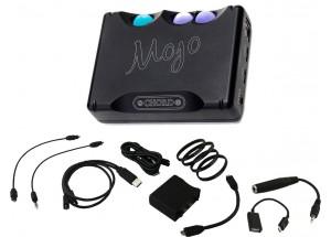 Chord Mojo - DAC Audio avec ses câbles analogiques / numériques