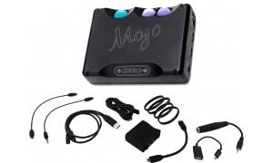 Chord Mojo et ses câbles audio