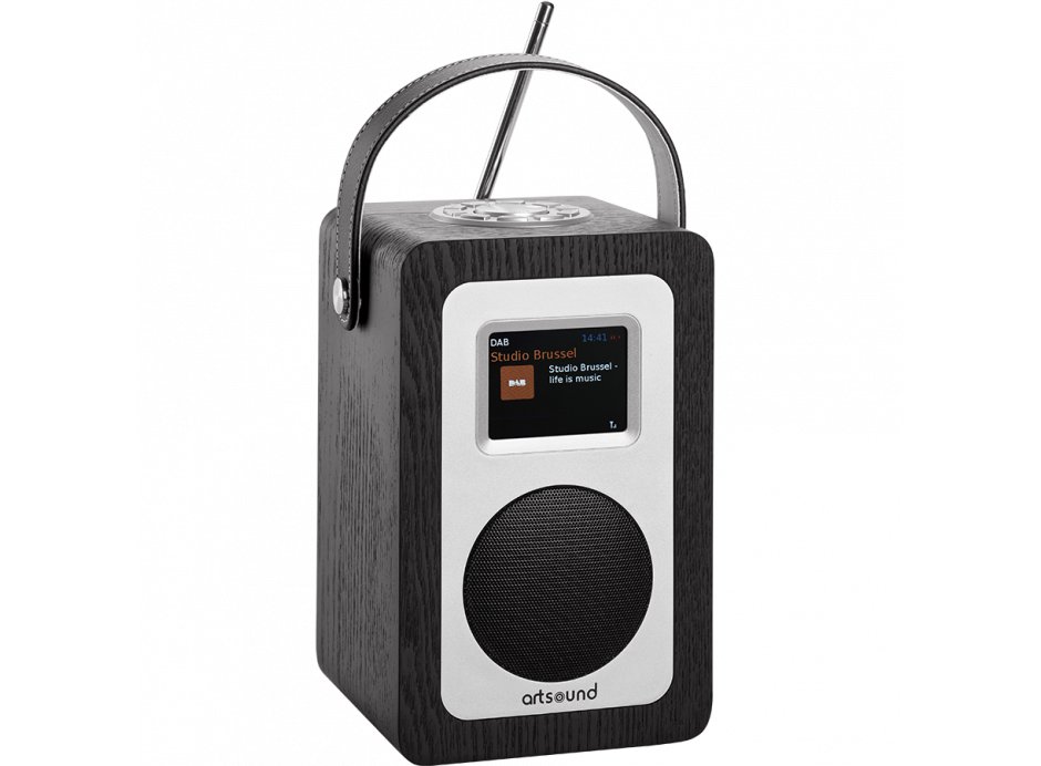 Promotion Poste de radio Artsound R4 nomade Wifi DAB FM batterie intégrée