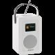 ArtSound R4 Blanc - Poste de radio triple tuner Internet / DAB /FM avec batterie intégrée