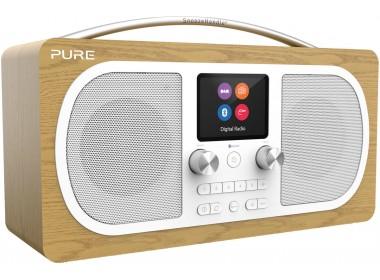 Pure Evoke H6 - Poste radio web stéréo, Bluetooth, triple réception WiFi, FM et RNT