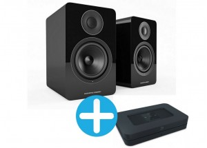Bluesound NODE 2  et Acoustic Energy AE1