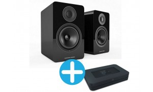 Bluesound NODE 2i  et Acoustic Energy AE1 Noir