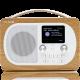Pure Evoke H4 Chêne : Poste de radio portable avec batterie en option
