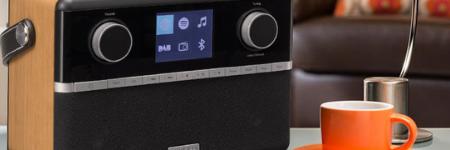 Radios Internet avec triple tuners WiFi, FM, DAB