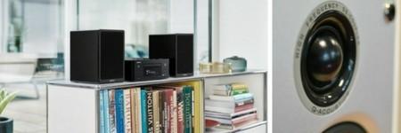 Mini-chaînes HiFi avec enceintes actives et lecteur réseau audio