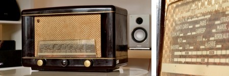 Postes de radio vintage WiFi et TSF