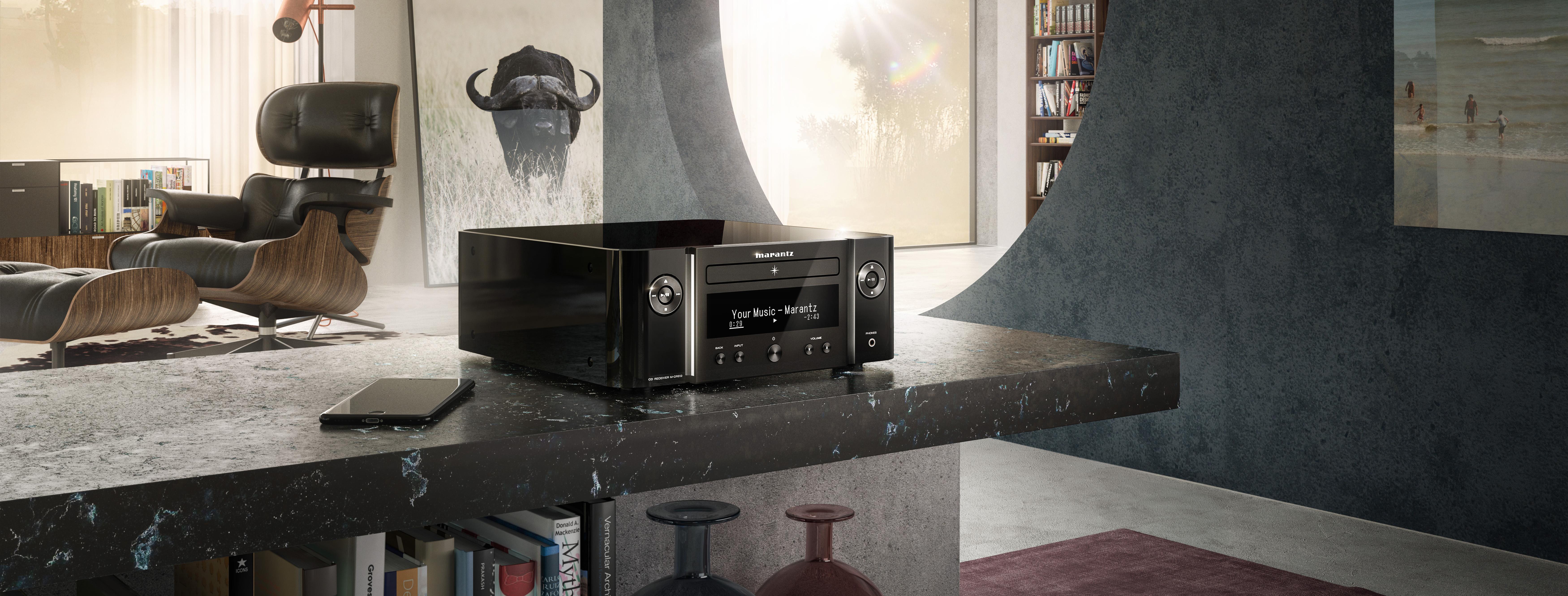 Notre sélection d'ampli HiFi connecté avec lecteur CD