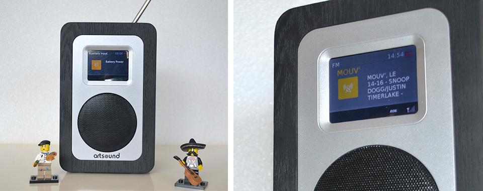 poste de radio fm et dab rnt avec batterie int gr e. Black Bedroom Furniture Sets. Home Design Ideas