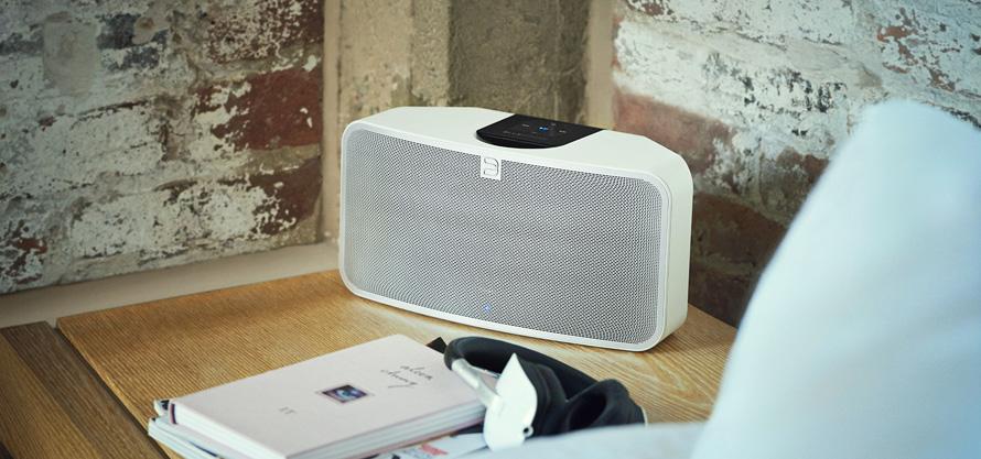 Enceinte sans fil réseau, wifi, bluetooth aptx avec amplificateur intégré  80 Watts 435a076319c5