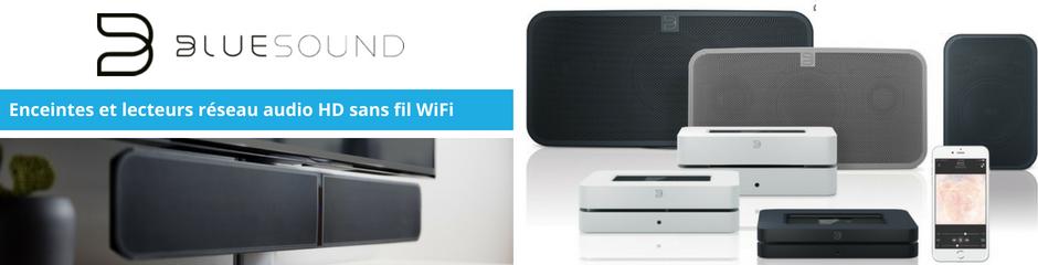 Bluesound : Lecteur réseau audio, enceintes et barre de son sans fil wifi, bluetooth