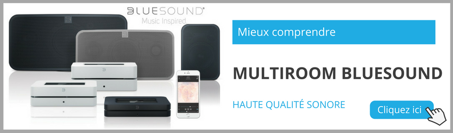 Comprendre le multiroom Bluesound