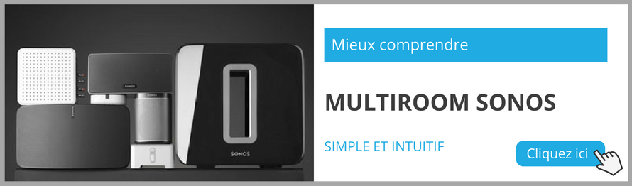 Comprendre le multiroom audio Sonos