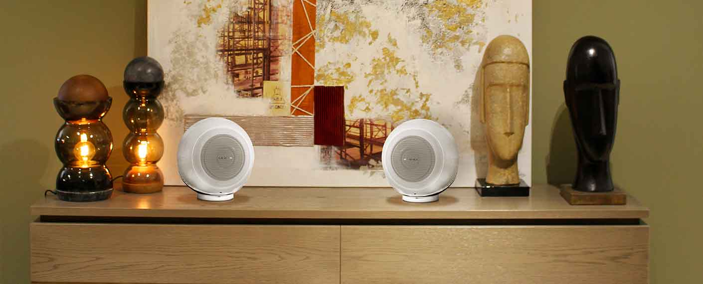 Cabasse The Pearl Akoya : Enceinte connectée HiFi puissance 1050 Watts RMS