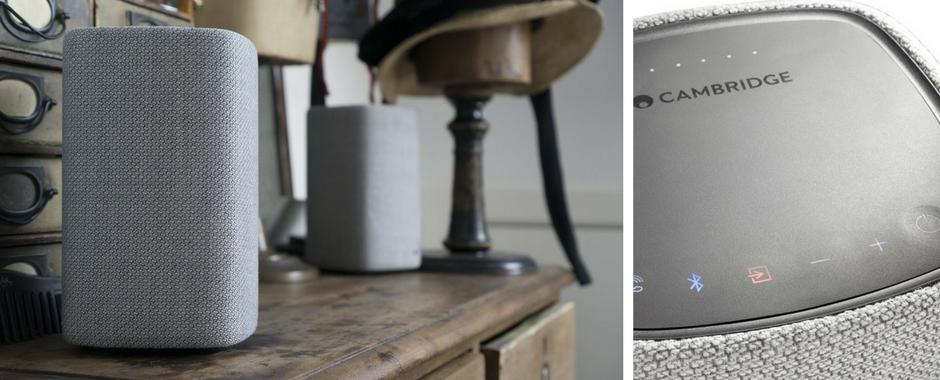 Cambridge YOYO (M) : système Bluetooth stéréo utra simple à prendre en main