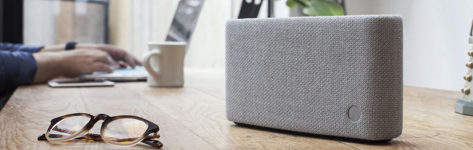 Enceinte nomade Bluetooth Cambridge YOYO (S) Gris clair