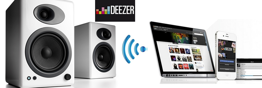 comment couter deezer sur ma cha ne hifi des enceintes wifi ou un poste de radio la boutique. Black Bedroom Furniture Sets. Home Design Ideas