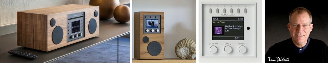 Présentation de la gamme Como Audio : postes de radio Internet/DAB/FM avec réception Bluetooth et fonction Multiroom