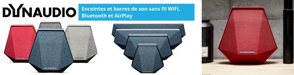 Dynaudio : Enceintes HiFi sans fil et barres de son pour la télévision avec WiFi, Bluetooth et AirPlay