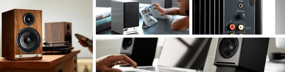 Voir les enceintes amplifiées et DAC audio Audioengine sur la boutique