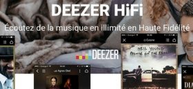 Deezer Elite/HiFi pour Bluesound