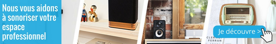 Nous vous aidons à sonoriser votre espace professionnel