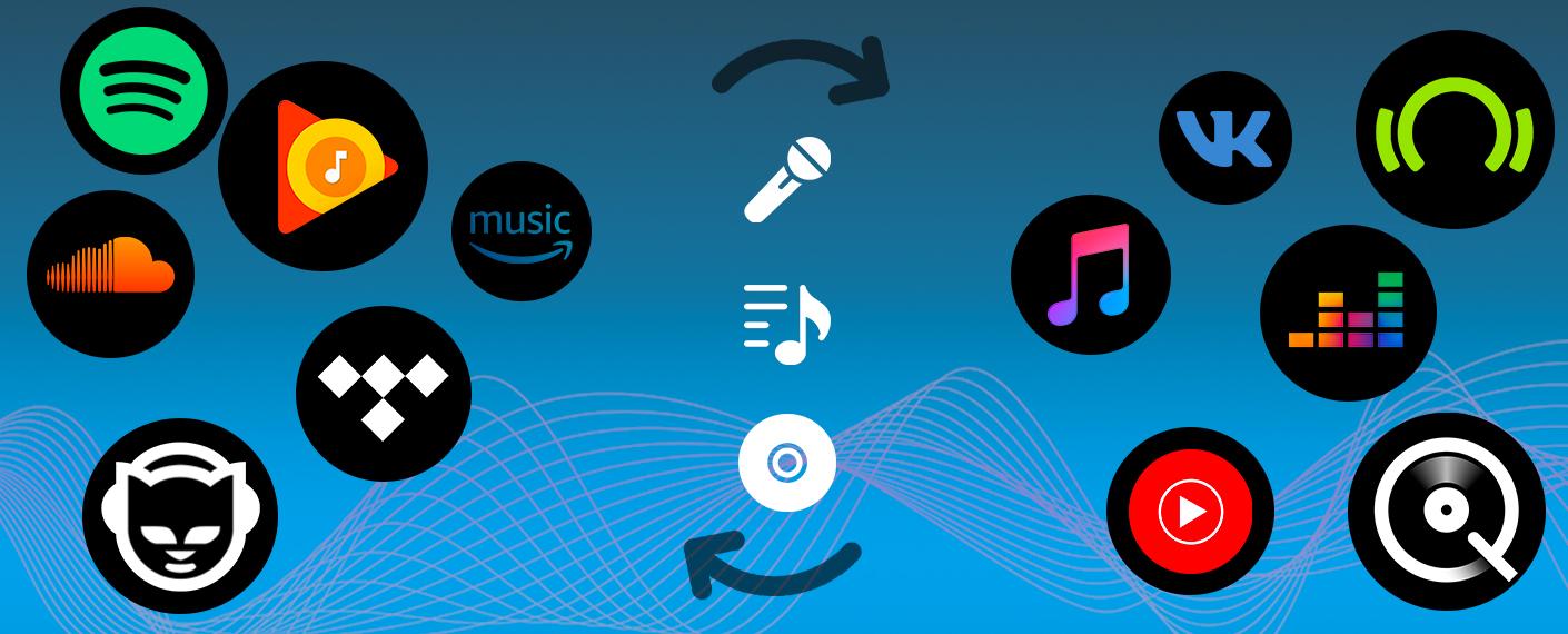 Comment transférer mes playlists d'un service de musique à un autre ?