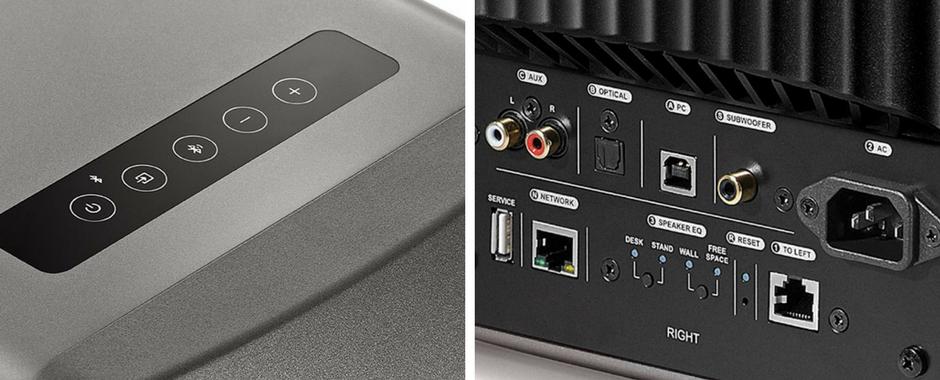 Enceintes sans fil WiFi KEF LS50 Wireless : connectez tous vos appareils aux enceintes LS50 Sans Fil et passez facilement de l'un à l'autre