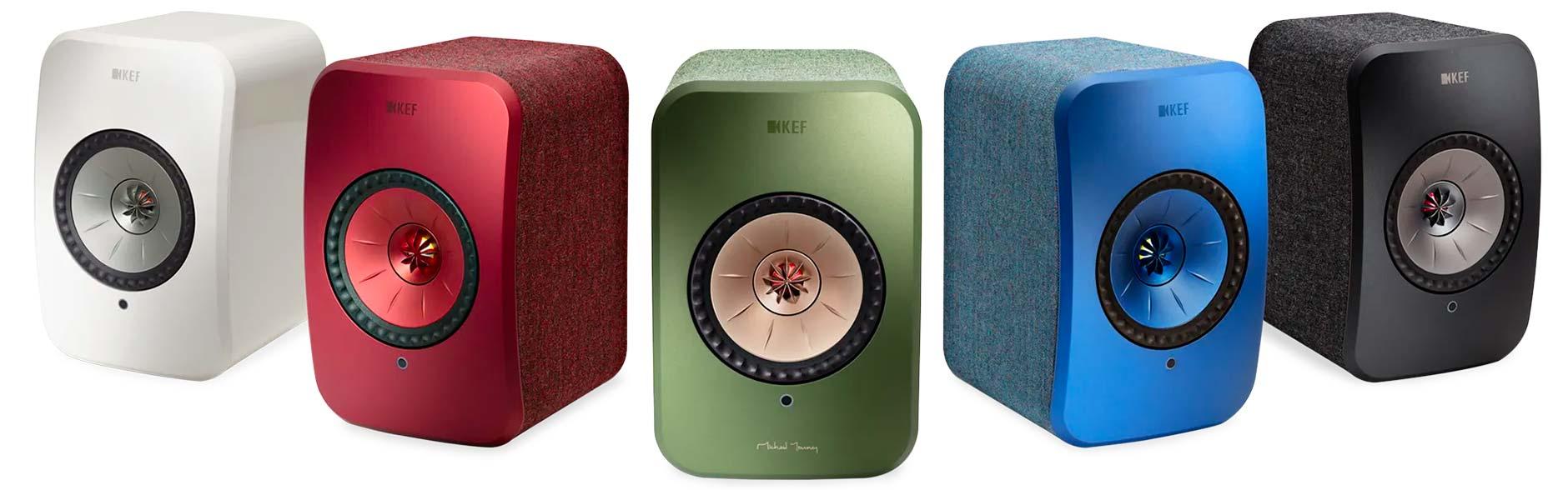 Associer un caisson de graves KEF Kube avec les enceintes connectées KEF LSX pour davantage de puissance et une qualité sonore supérieure