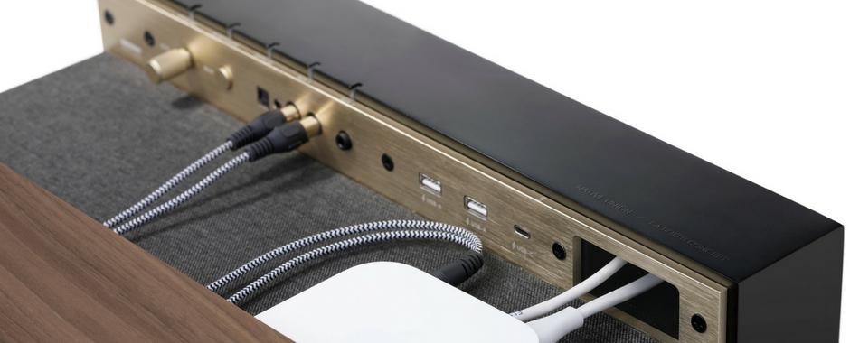 Enceinte active design avec Bluetooth aptX (unité) PR/01 La Boite Concept