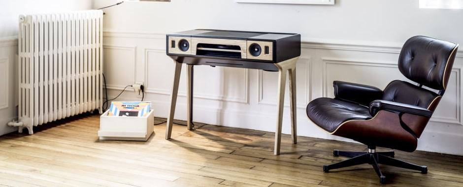 enceintes amplifi es 2 x 80 w dac hd 31 bits bluetooth aptx. Black Bedroom Furniture Sets. Home Design Ideas