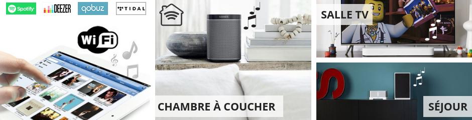 Le multiroom audio pour diffuser les musiques et les vidéos dans toute la maison