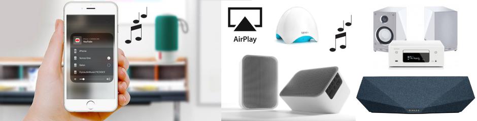 Vos musiques en AirPlay