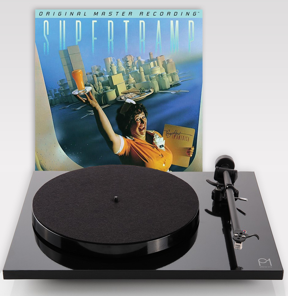 Offre exceptionnelle pour une platine REGA ou La Boite concept achetée nous vous offrons le vinyle collector numéroté de Supertramp Breakfast in America