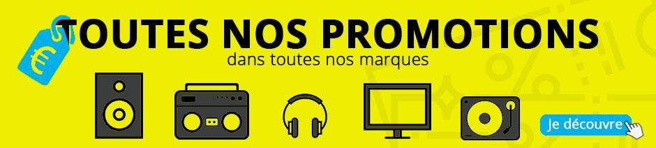 Promotions HiFi, audio-vidéo, home cinéma
