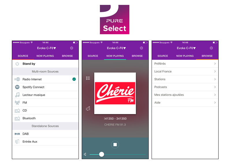 Application Pure Select