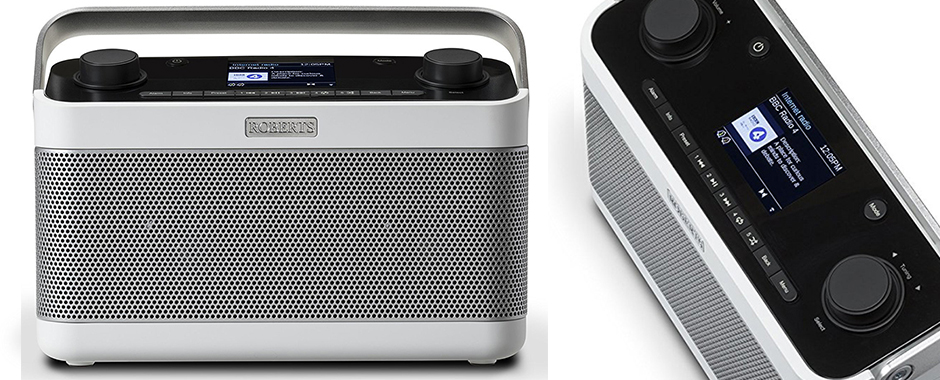 Poste de radio Internet /DAB /FM Roberts Stream 218 avec réception Bluetooth, Spotify Connect et port USB de lecture