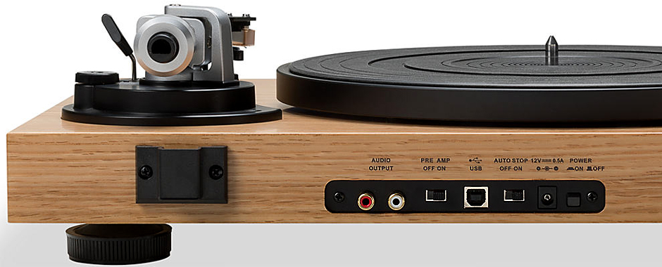 platine vinyle avec pr ampli phono et sortie num rique usb. Black Bedroom Furniture Sets. Home Design Ideas