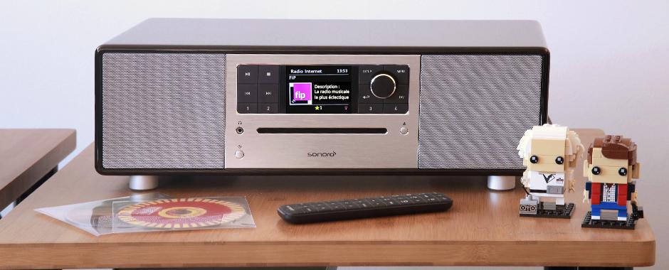 Découvrir un produit alternatif : Sonoro PRIMUS - une mini chaîne HiFi sans lecteur CD