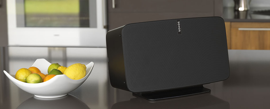 Support bureau enceinte Sonos Play:5