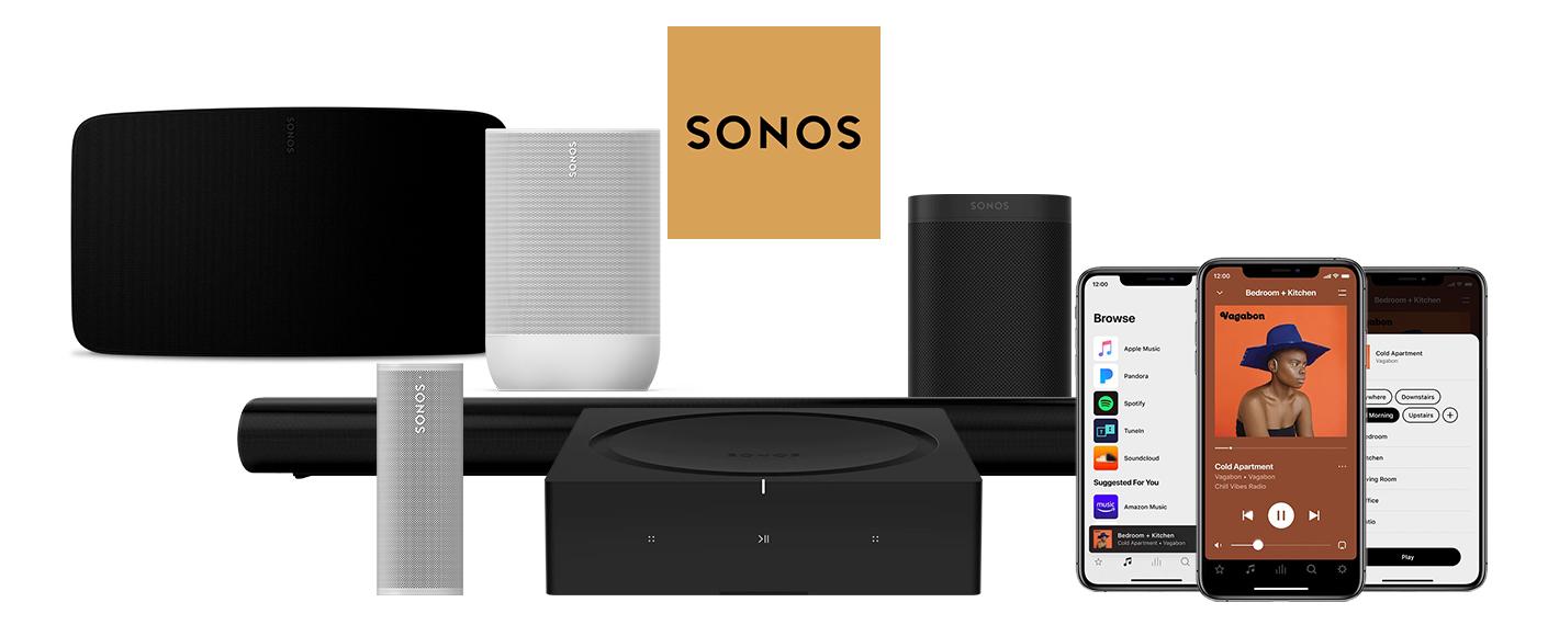 Comment fonctionne l'application Sonos ?