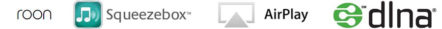 lecteur réseau audio HiFi compatible Roon, Squeezebox, Air Play, DLNA