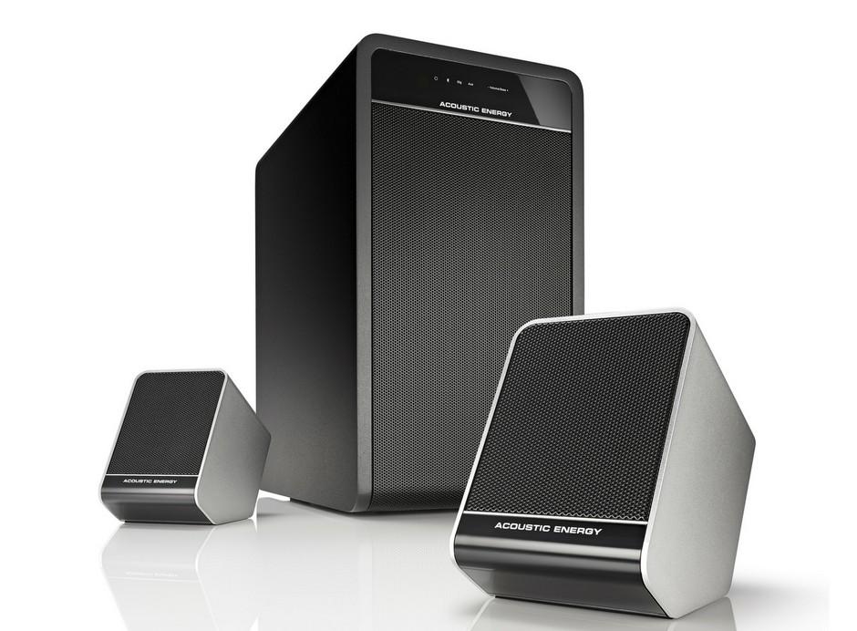 Enceintes Acoustic Energy Aego : Enceintes satellites polyvalentes TV et enceinte Bluetooth et audio